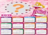 Calendário 2019 Princesa Aurora