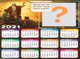 Montagem de Calendário 2021 Crê em Jesus