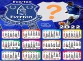 Calendário 2022 Everton Football Club Online
