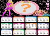 Calendário 2019 Barbie Escola de Princesas