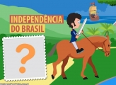 Independência do Brasil Cavaleiro Moldura