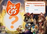 Convite 44 Gatos