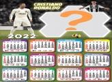 Calendário 2022 Cristiano Ronaldo Juventus