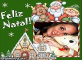 Moldura Casa do Noel