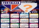 Calendário 2022 Fortaleza para Montar Foto e Imprimir