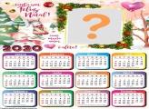 Calendário 2020 Feliz Natal com Muito Amor