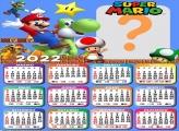 Calendário 2022 Super Mario Montagem Grátis