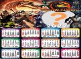 Calendário 2022 Mortal Kombat Montar Online