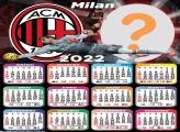 Calendário 2022 Milan Gratuito Online