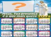 Calendário 2022 Presença de Jesus Virtual Online