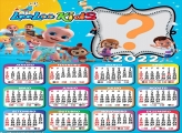 Calendário 2022 Loo Loo Kids Colar Foto