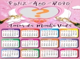 Calendário 2020 Amor da Minha Vida