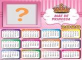 Calendário 2020 Mãe de Princesa