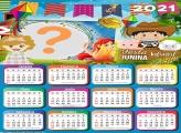 Calendário 2021 Festa Junina Caipirinhas