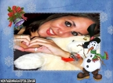 Boneco de Gelo e Enfeite Natal