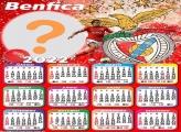 Calendário 2022 Benfica Foto Moldura Grátis