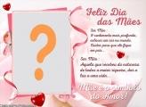 Montagem Símbolo de Amor Dia das Mães