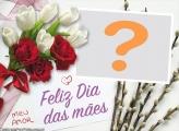Feliz Dia das Mães Meu Amor Personalizado com Foto
