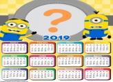 Calendário 2019 Minions