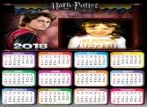 Calendário 2018 Harry Potter