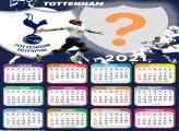 Calendário 2021 Tottenham Time de Futebol