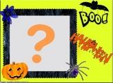 Boo Halloween Moldura