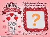 Dia dos Namorados Colagem Grátis