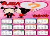 Calendário 2019 Pucca