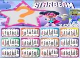 Calendário 2022 Starbeam Foto Moldura Online