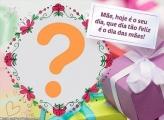 Dia das Mães Cartão com Montagem de Foto
