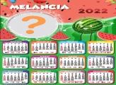 Calendário 2022 Melancia Montagem Fotos Online