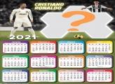 Calendário 2021 do Cristiano Ronaldo no Juventus