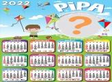 Calendário 2022 Pipa Editar Online Grátis