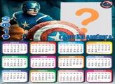 Calendário 2019 Capitão América
