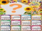 Calendário 2022 Girassol Festa Junina Online