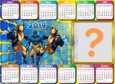 Calendário 2019 do Wolverine