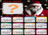 Calendário 2022 Papai Noel Malvado para Fotos