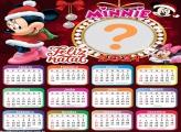 Calendário 2021 Minnie Natal Disney