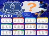 Calendário 2021 Everton Football Club