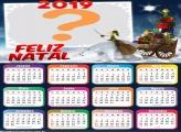 Calendário 2019 Gnomos Presente Natal