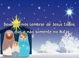 Lembre de Jesus todos os dias