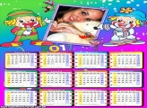 Calendário 2017 Crianças Papati Patatá