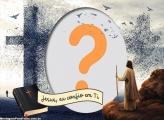 Foto Colagem Jesus eu confio em Vós
