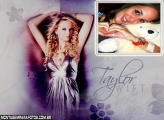 Moldura Cantora Taylor Swift