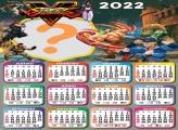 Calendário 2022 do Street Fighter 5 Montagem Grátis