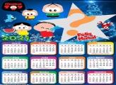 Calendário 2021 Mônica Toy de Feliz Natal