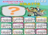 Criar Calendário 2022 Aventuras com os Kratts