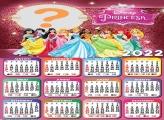 Calendário 2022 Princesas da Disney Editar Grátis