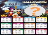 Calendário 2021 Halloween Foto Montagem Grátis