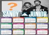 FotoMontagem Calendário 2021 Sandy e Júnior